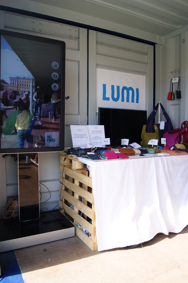 Lumi Accessories in Helsinki Fashion Village on Senate Square of Helsinki. Photo by myPose! ltd