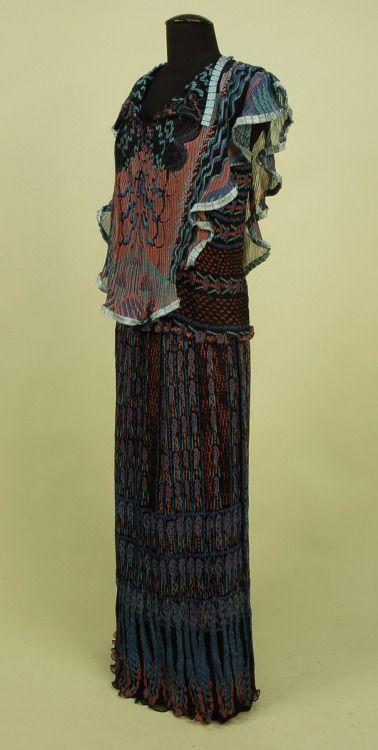 Ensemble Zandra Rhodes, 1970s Whitaker Auctions