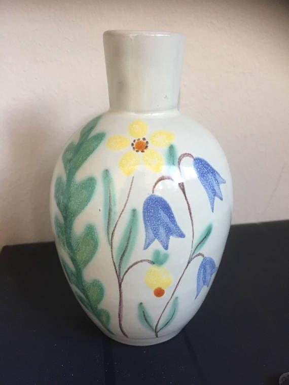 Anna-Lisa Thomson/Ekeby/1947/handpainted/vase/Swedish