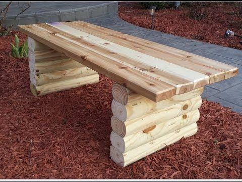 Gartenbank selber machen. Gartenbank selber bauen….