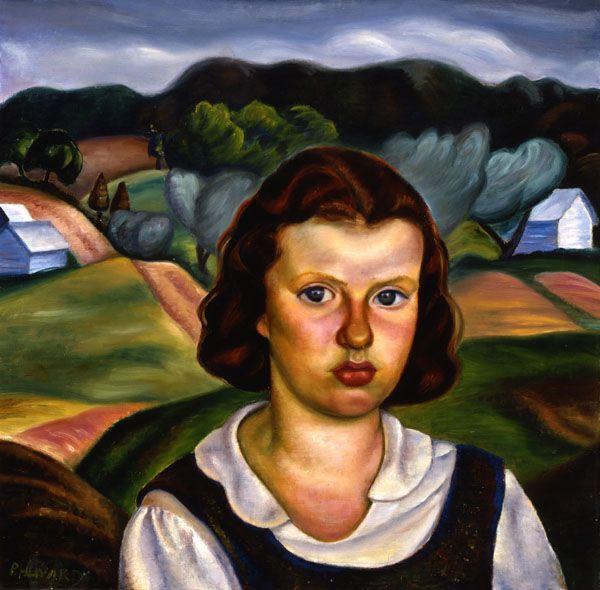 Prudence Heward, Farmer's Daughter, c. 1938. Winnipeg Art Gallery