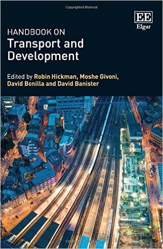 Amazon.com: Handbook on Transport and Development (EBOOK) http://www.elgaronline.com/view/9780857937254.xml This Handbook provides an extensive overview of the relationships between transport and development. With 45 chapters from leading international authors, the book is organised in three main parts: urban structure and travel; transport and spatial impacts; and wider dimensions in transport and development.