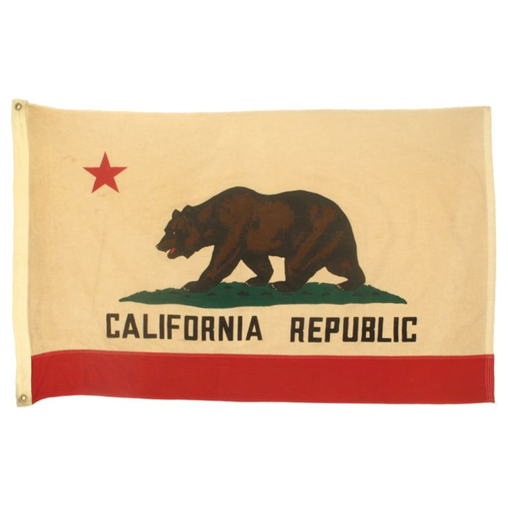 1940s California Republic Flag Forestry Service (Retired)