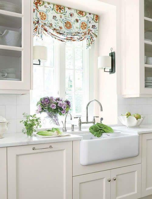 Las 25 mejores ideas sobre peque as ventanas en pinterest - Ver cortinas para cocina ...