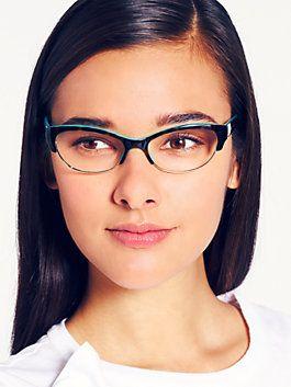 Kate Sapde Glasses - ALETA in tortoise & turquoise