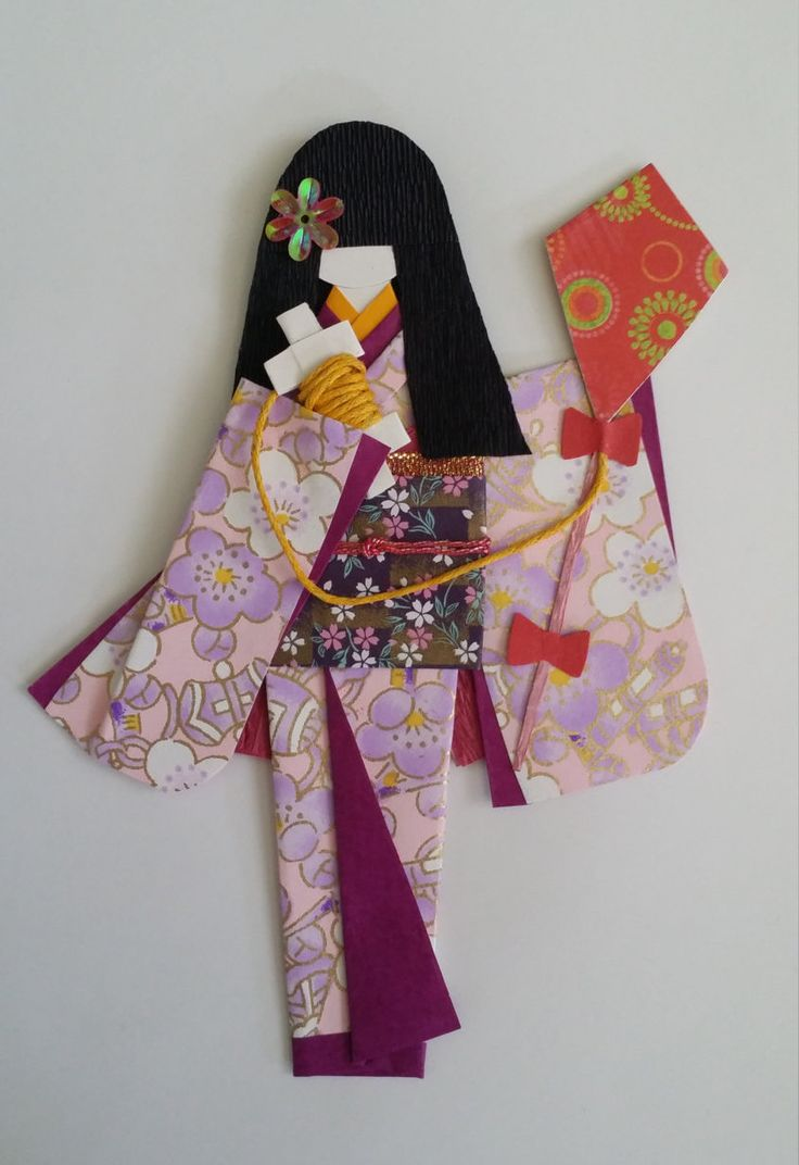 516 best Japanese origami paper dolls images on Pinterest ...
