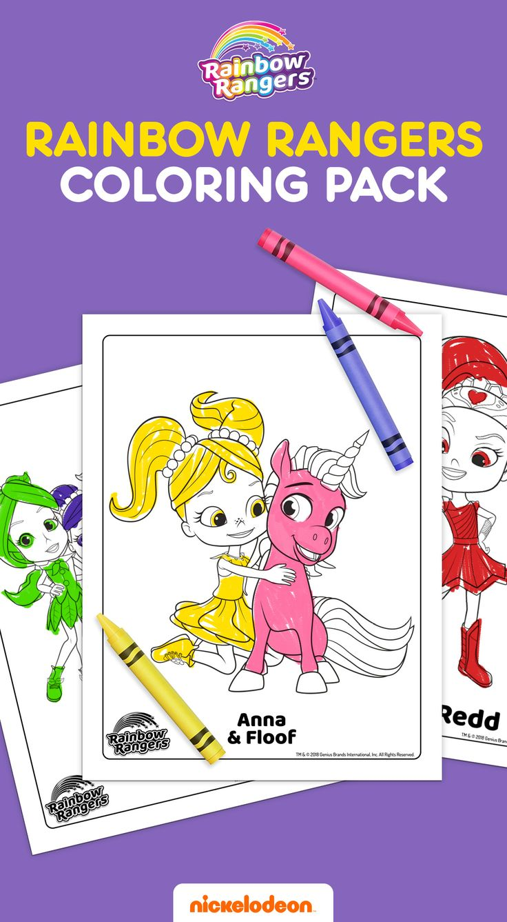 37+ Printable rainbow rangers coloring pages information