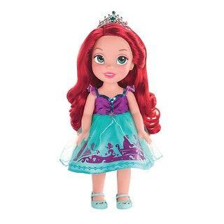 """Lalka Arielka z filmu """"Mała Syrenka"""" powstała z myślą o najmłodszych fankach przygód bajkowych księżniczek. #Arielka #MałaSyrenka #dzieci"""