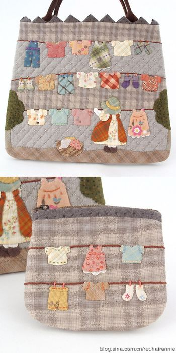 Bolso patchwork country