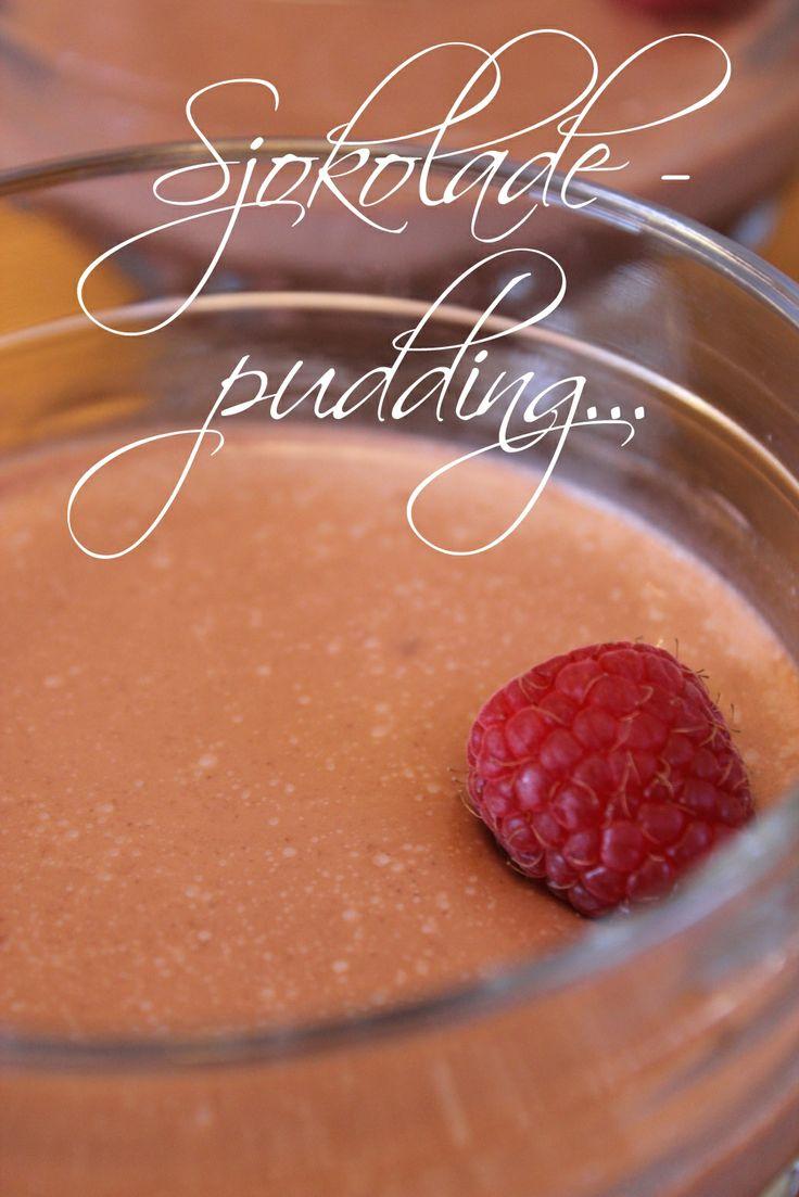 Sukkerfri Sjokoladepudding...