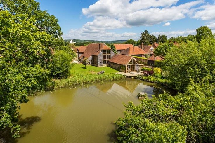 Bit of Friday inspiration. This barn conversion in KENT......  On the market for £1.75m  http://bit.ly/1FO5Ab1