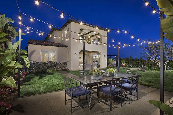 Upper back deck! - Descano at Del Sur - San Diego new homes - plan 1 rear ext