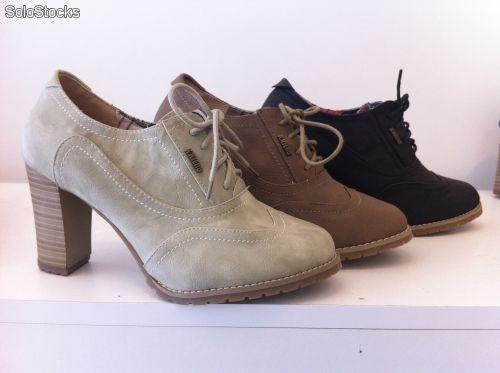 Zapatos Tacón Grueso