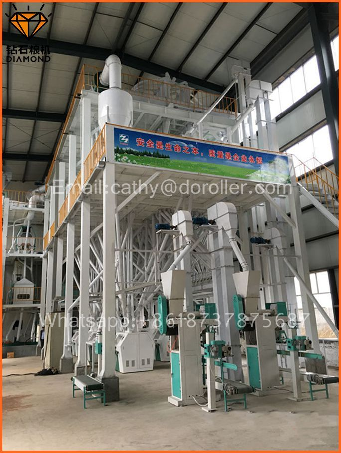 wheat flour mill machine factory