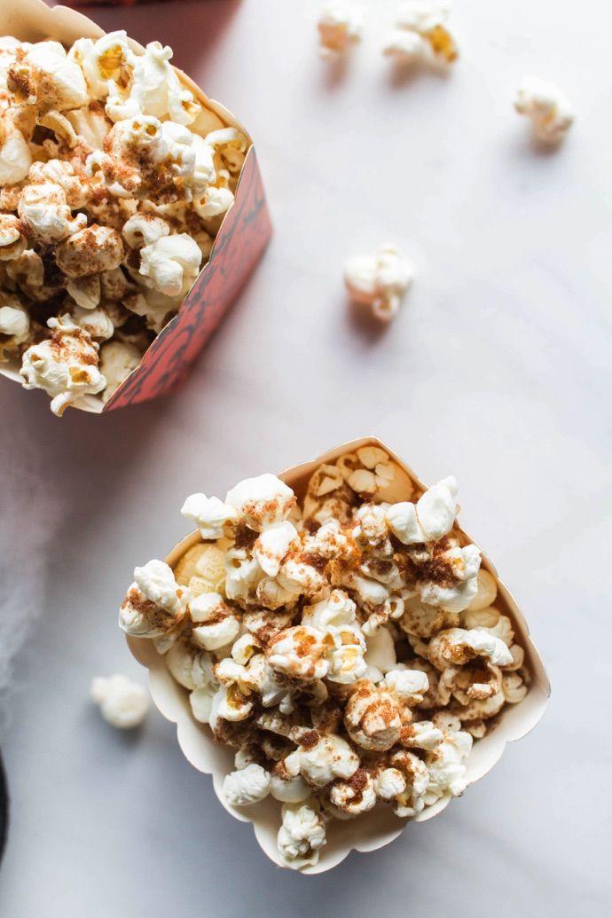Pumpkin Spiced Popcorn