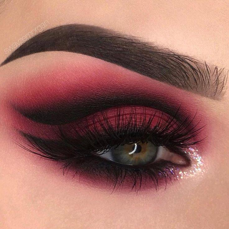 Verbessere deine Make-up Fähigkeiten mit dem blauen Augen Make-up Pic # 6170 #b…