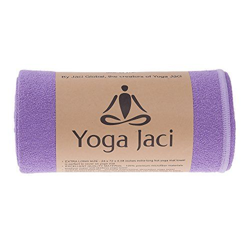 "Bikram Yoga Towel for Skidless Non Skid When Damp. Enhance Grip and Stability, Super Absorbent Anti Slip Mat Cover, Soft Microfiber Protect Mat as Hygienic Barrier. Machine Washable. Best for Bikram, Hatha, Ashtanga, Vinyasa, Pilates, Fitness (Purple, 1 Mat Towel 24""x72"") Yoga Jaci http://www.amazon.com/dp/B00RSNHMH6/ref=cm_sw_r_pi_dp_Z2cexb1647RN2"