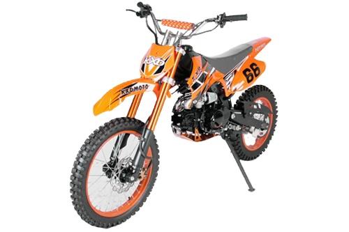 """Dirtbike """"Shine"""" 125ccm 4 Takter ein ebenfalls unverwüstliches Gerät"""