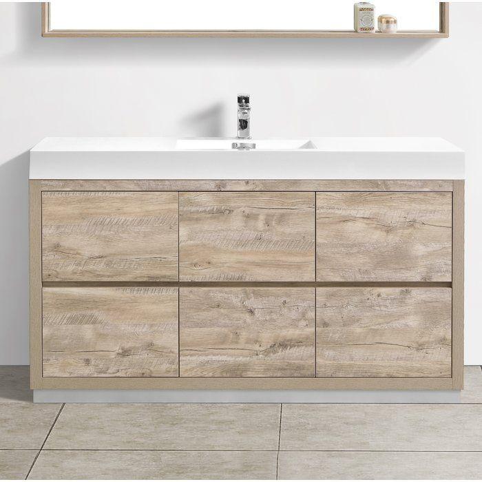Malakai 59 Single Bathroom Vanity Set Single Bathroom Vanity