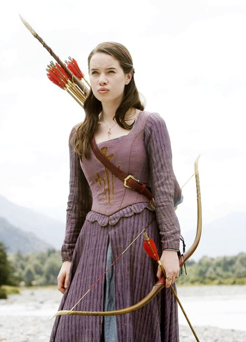Susan Pevensie - Anna Popplewell in The Chronicles of Narnia: Prince Caspian (2008).