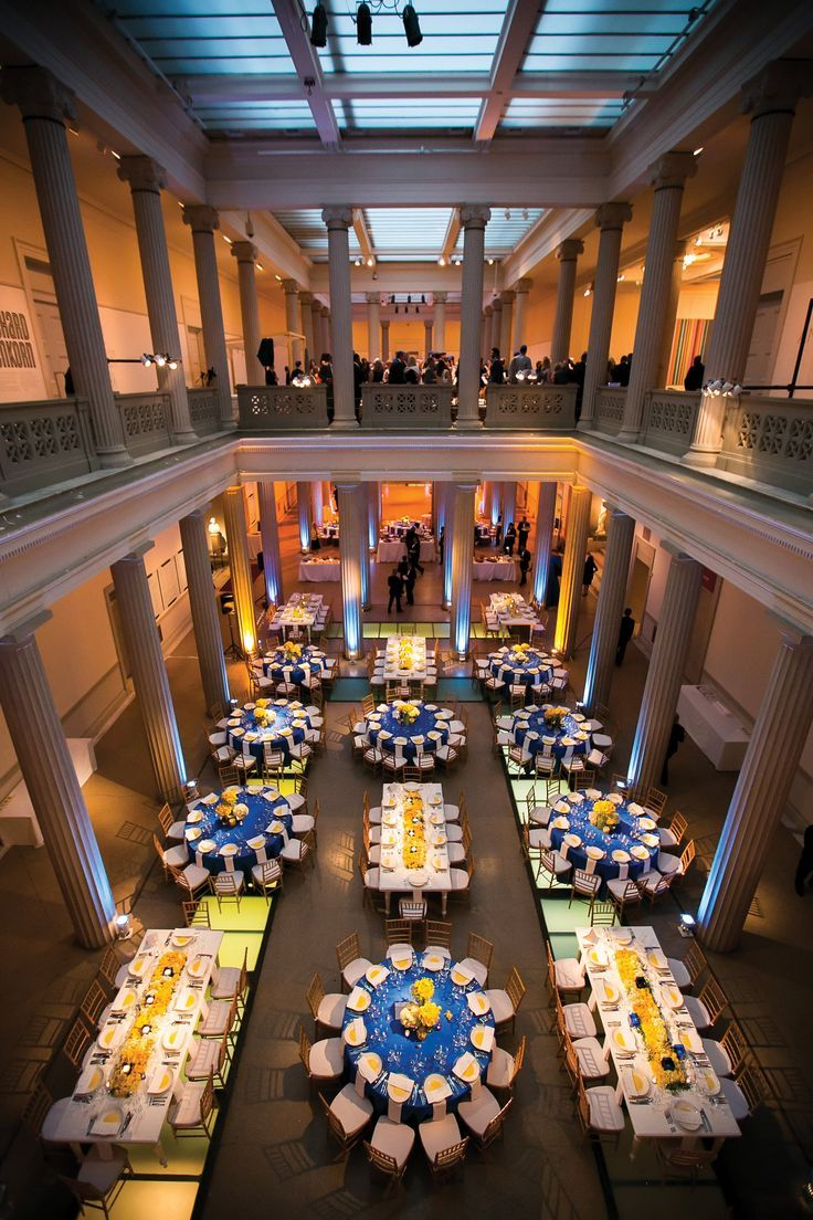 wedding locations in southern californiinexpensive%0A Yellow and Blue Reception D  cor