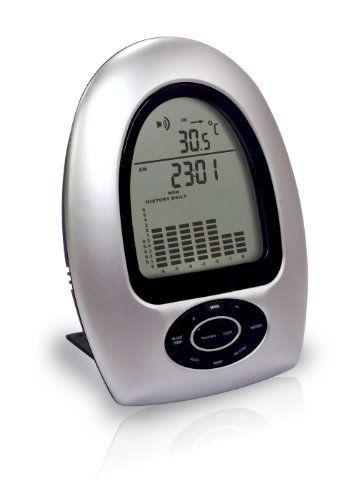 Koch 93800 - Termómetro y pluviómetro inalámbrico