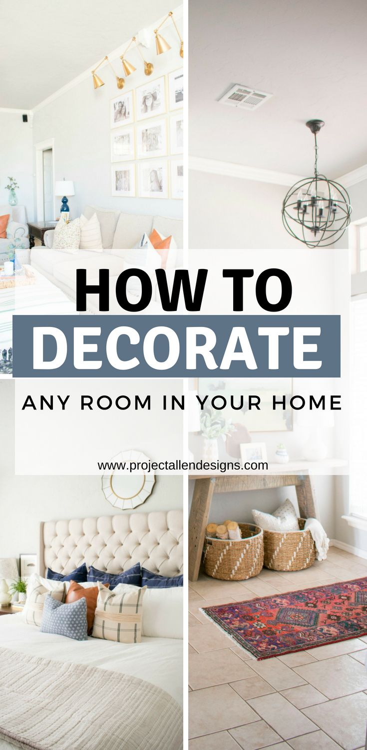 How To Decorate Any Room In Your Home Home Decor Bedroom Home