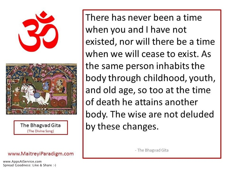 Gita on Death & Time...