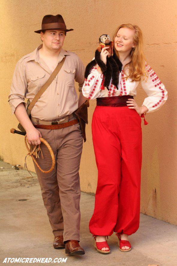 Marion Ravenwood costume   Atomic Redhead