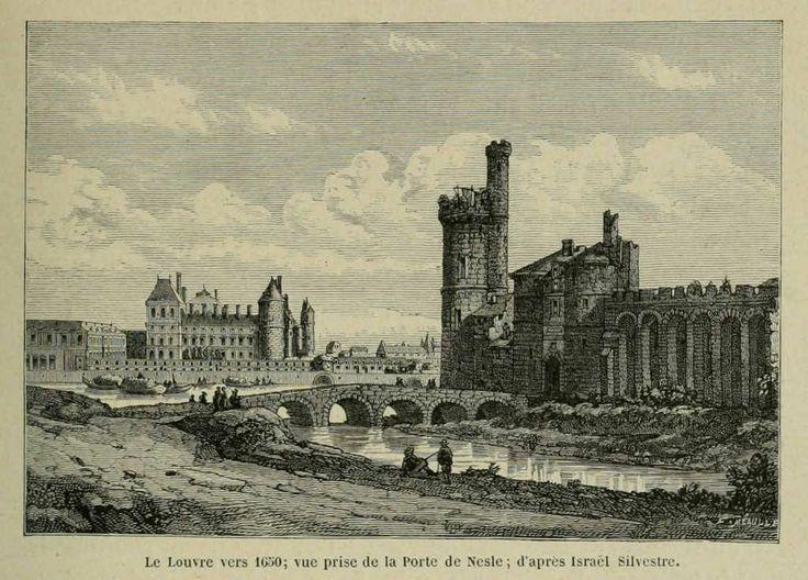 El Louvre desde la Porte de Nesle