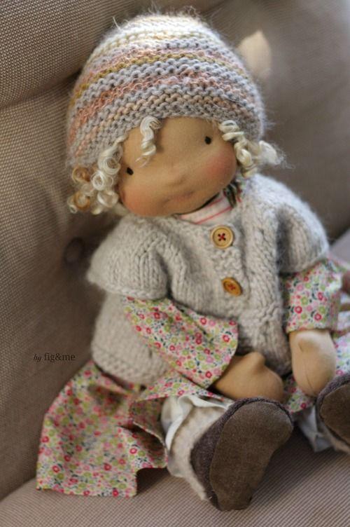 Sweet jumper by Figand me - My three princesses. #dressadolluk #dolls