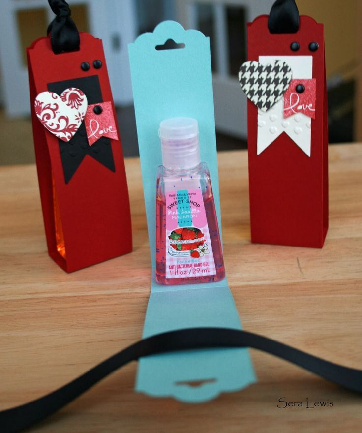 Image Result For Stampin Up Hand Sanitizer Scalloped Punch