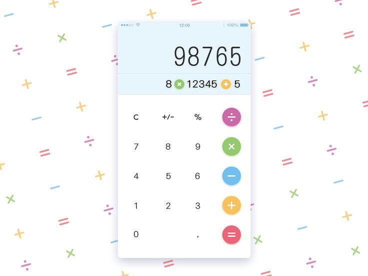 Calculator UIconcept