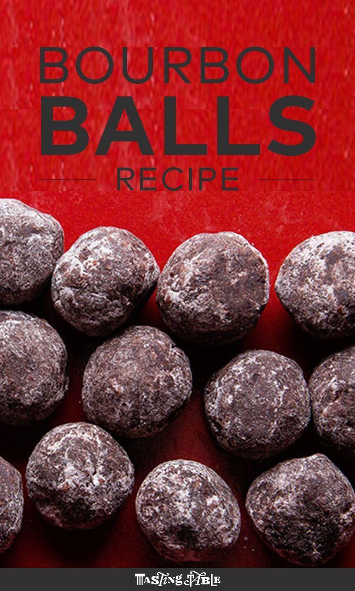 Recipe bourbon balls easy