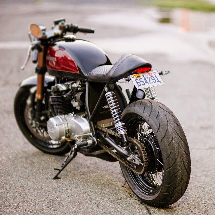 Honda CB 550 - Motor Fuel