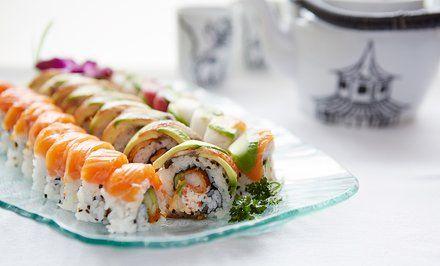 grafika Zestawy sushi aż do 92 elementów