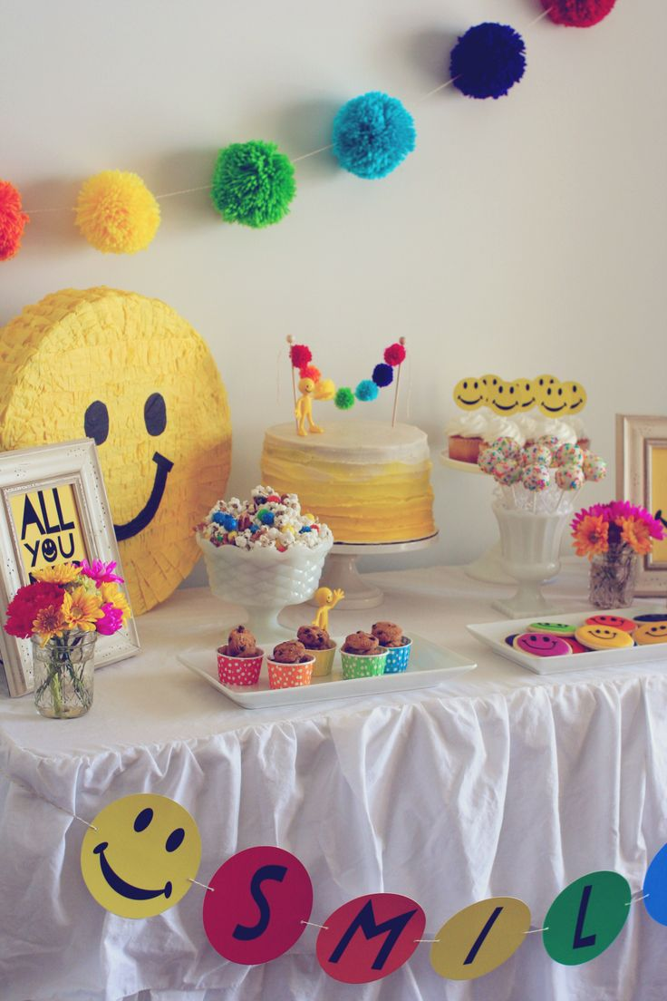 Smiley Face Theme Party Check out the