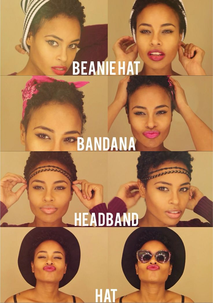 15 Fun Hairstyle Ideas For Short Natural Hair. Hopefully my hair will be this length when I take my sew ins out