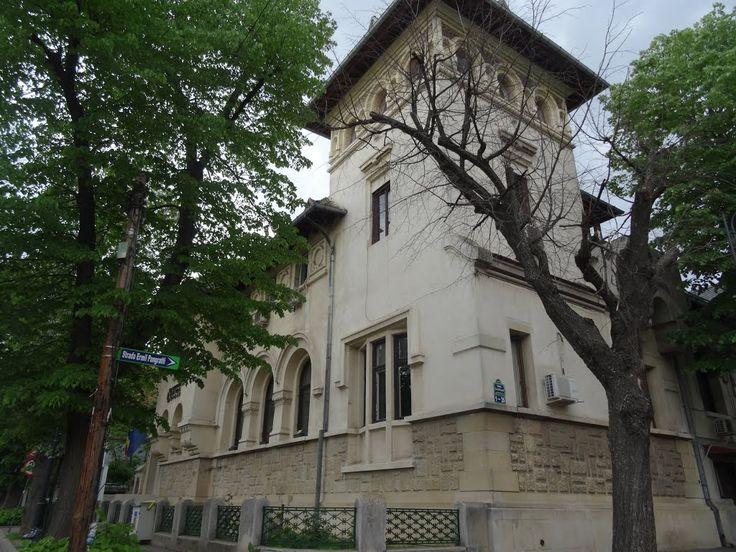 Casa lui Nicolae Malaxa // Aleea Alexandru Bucuresti Nicolae Malaxa Petre Antonescu