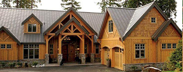 Cedar Strip Sided Homes | Cedar Siding Stain Colors