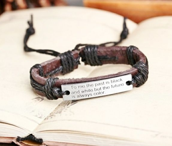 Lærarmbånd med visdomsord