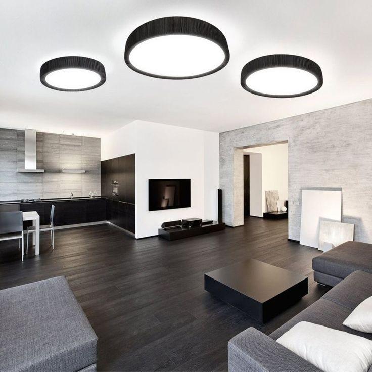 Die besten 25 deckenlampe schwarz ideen auf pinterest for Deckenlampe wohnzimmer modern