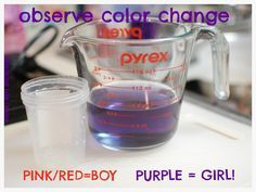 Making Life Divine: The Red Cabbage Gender Prediction Test