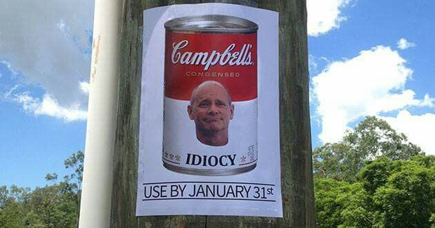 Campbell Newman..... funny pic
