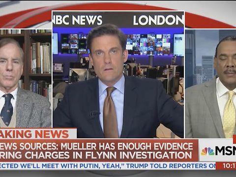 Following the bombshell report that that Special Counsel Robert Mueller has enough evidence to charge former National Security Adviser Michael Flynn and his son in the Russia investigation, former Democratic National Chairman Howard Dean (D-VT) predicted on Sunday that President Donald Trump's son-in-law Jared Kushner will be indicted for money laundering and that the next step will be the Trump family.<br><br>Trump National Diversity Coalition Director Bruce Levell told MSNBC that he was…