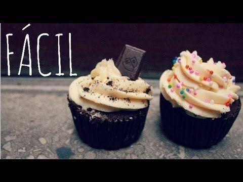Cómo hacer cupcakes en el microondas http://ini.es/1v6SJk2 #CupcakesHechosEnMicroondas