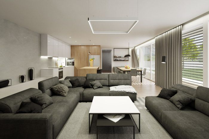 Moderná obývačka