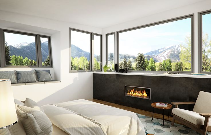 3d visualization done in Aspen Colorado for KRAI architects. #3d-vizual. #aspen #render #architecture #3d visualization #interior