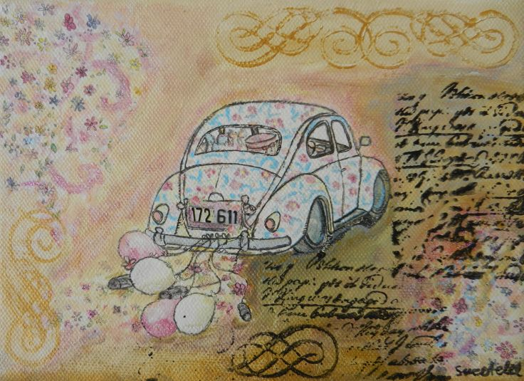 Special order on Canvas, Collage, Decoupage and Painting - Ειδική παραγγελία σε καμβά, Κολάζ, Decoupage και Ζωγραφική.