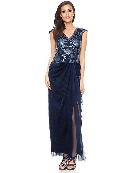 Ashley Brooke Event - Abendkleid taupe im Heine Online-Shop kaufen